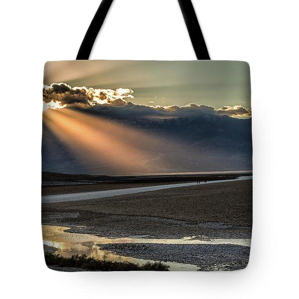 Bad Water Basin Death Valley National Park Tote Bag