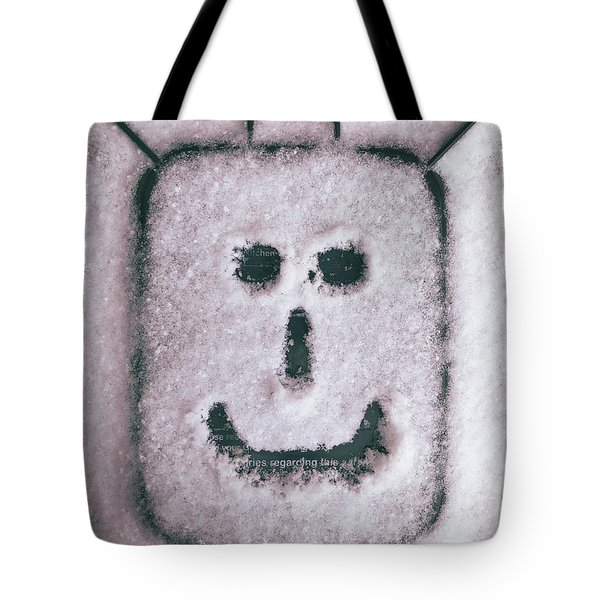 Bad Weather, Good Face Tote Bag