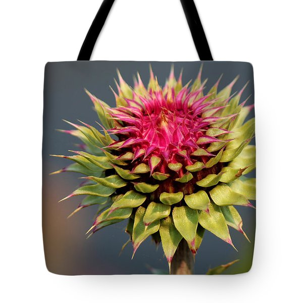 Tote Bag featuring the photograph Bad Weeds Grow Tall by Silke Brubaker