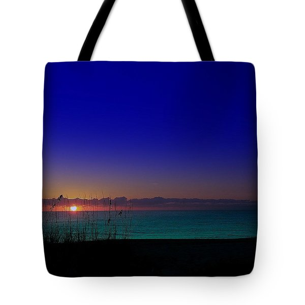 Badblue Sunrise  Tote Bag
