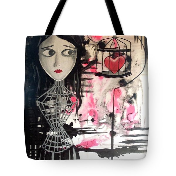 Badheart Tote Bag