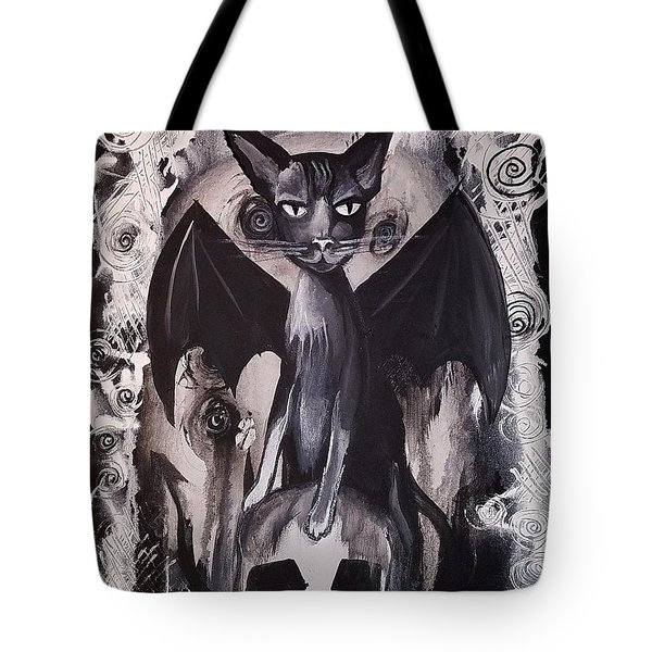 Badkitty Tote Bag