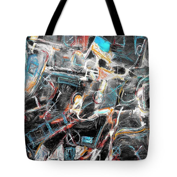 Tote Bag featuring the painting Badlands 2 by Dominic Piperata