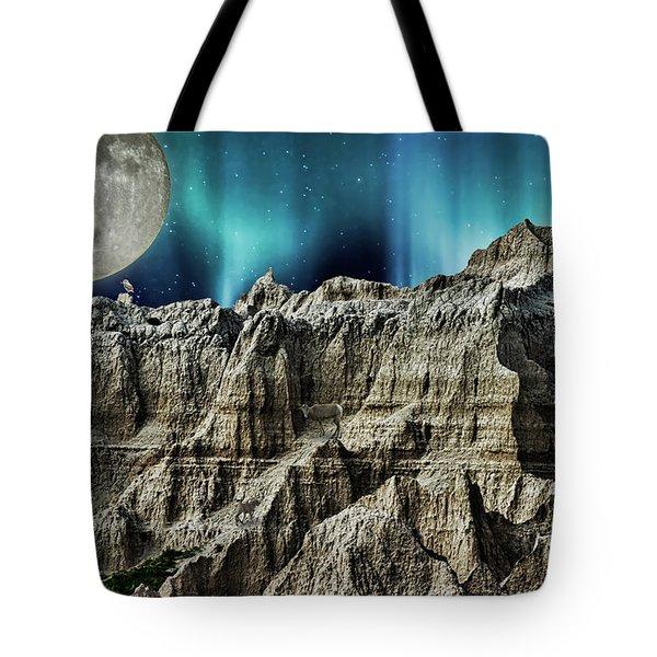 Badland's Borealis Tote Bag