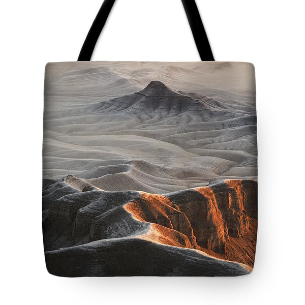 Badlands Fog Tote Bag