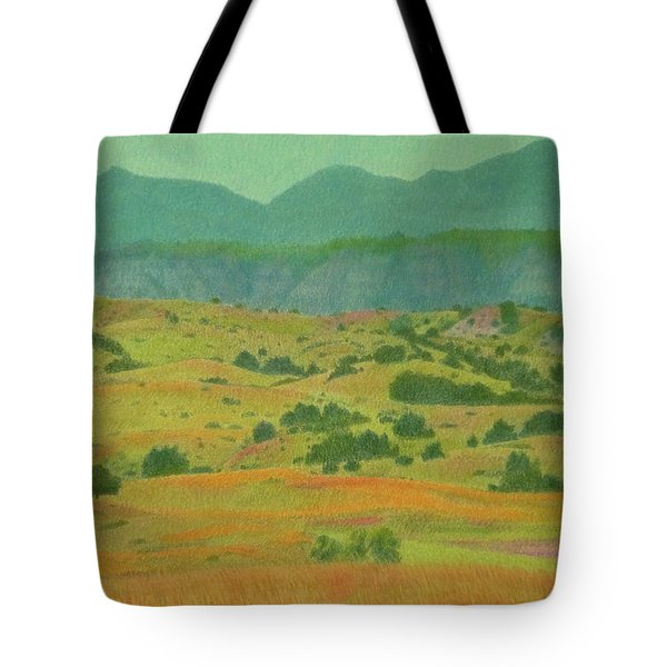 Badlands Grandeur Tote Bag