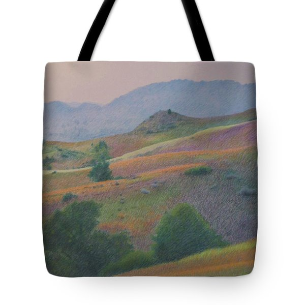 Badlands In July Tote Bag