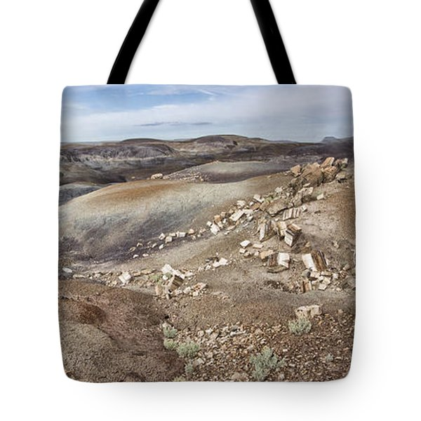Badlands In Petrified Forest Tote Bag