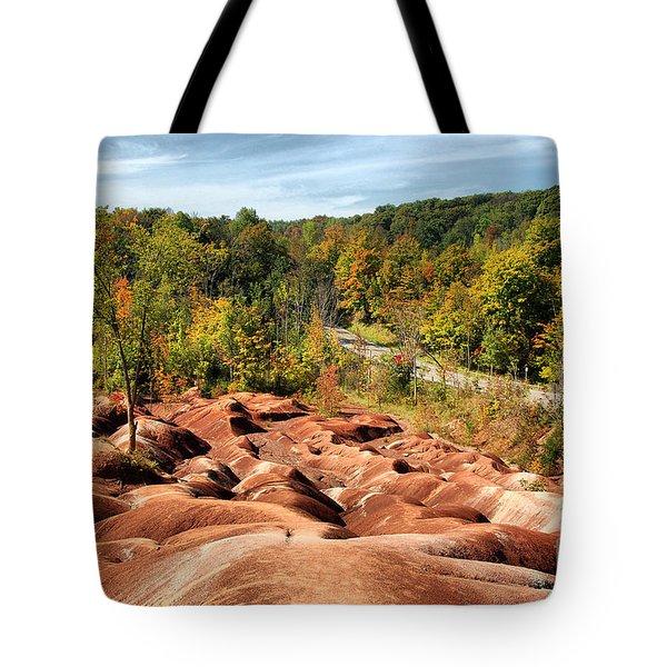Badlands Tote Bag by Joe  Ng