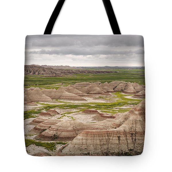 Tote Bag featuring the photograph Badlands by John Gilbert