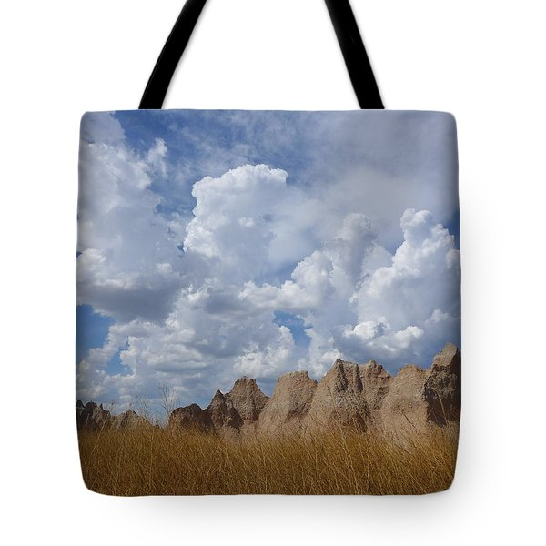 Tote Bag featuring the photograph Badlands by Keith McGill