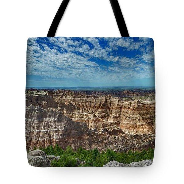 Badlands Landscape Tote Bag