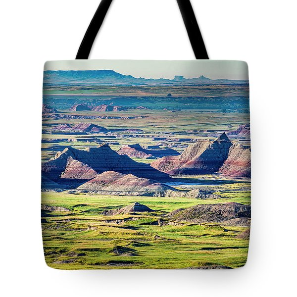 Badlands National Park Tote Bag