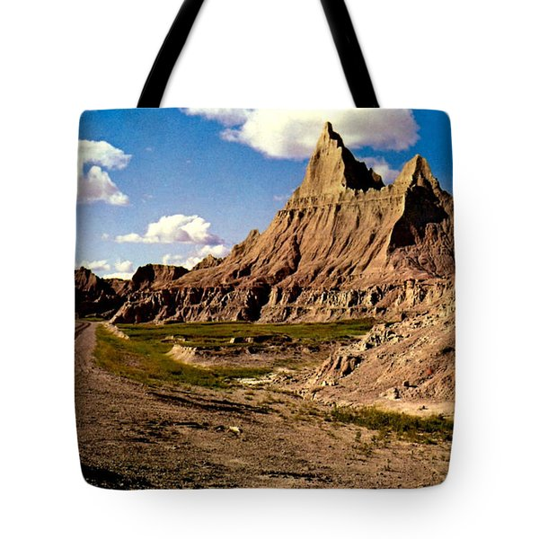 Badlands National Park  Tote Bag by Ruth  Housley