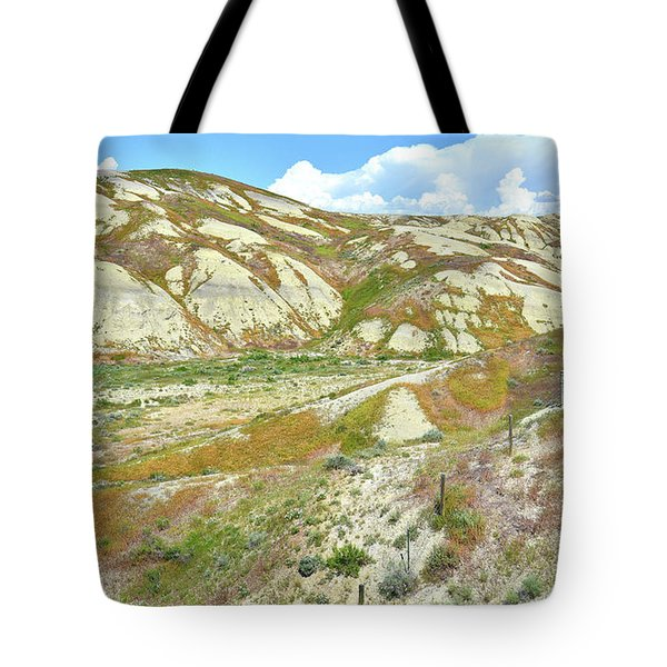 Badlands Of Wyoming Tote Bag