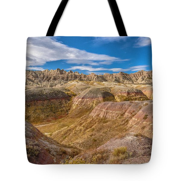 Badlands South Dakota Tote Bag