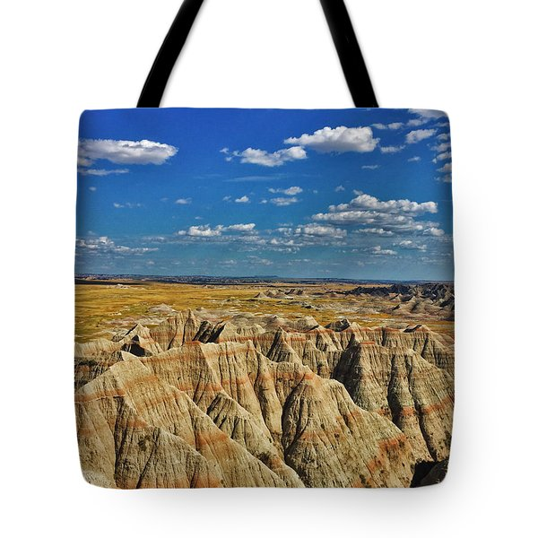 Badlands To Plains Tote Bag