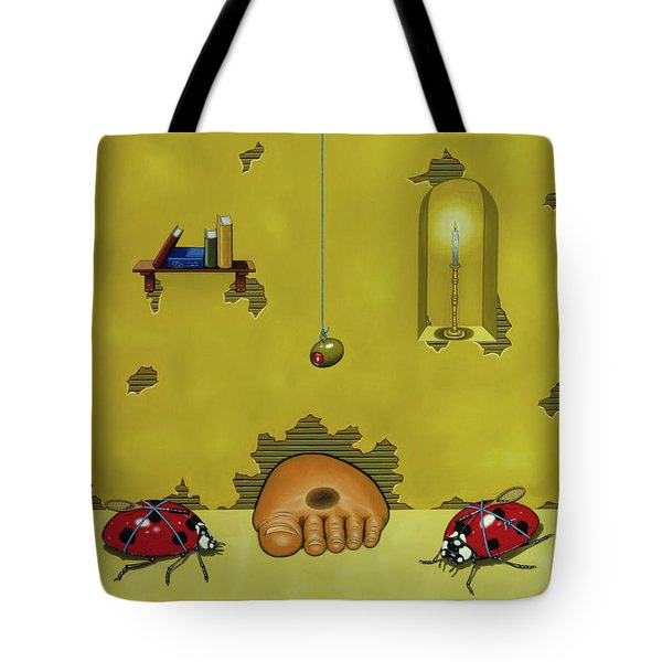 Badminton By Candlelight Tote Bag