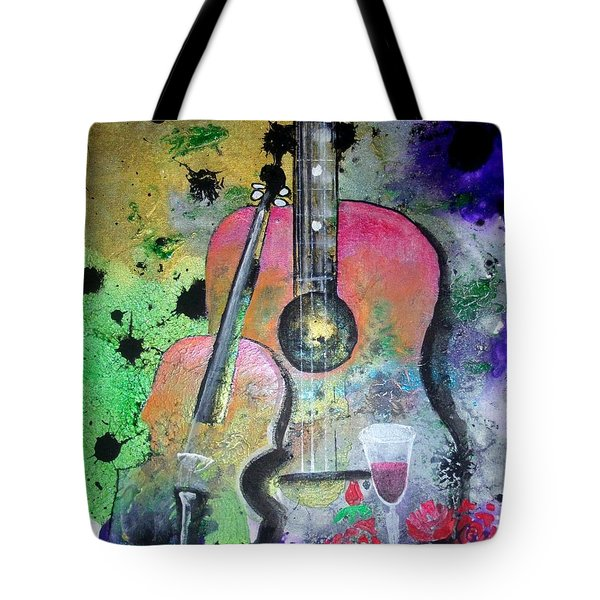Badmusic Tote Bag