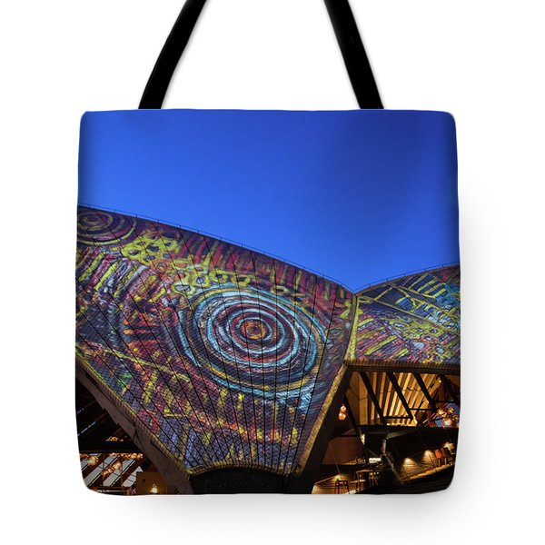 Badu Gili Light Show  Tote Bag