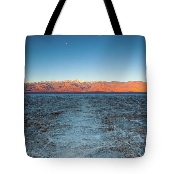 Tote Bag featuring the photograph Badwater  by Catherine Lau