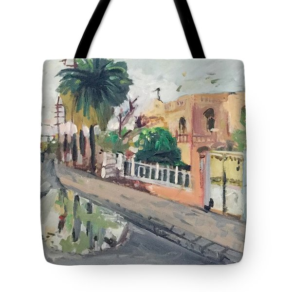 Baghdad Old House Tote Bag