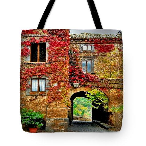 Bagnoregio Italy Tote Bag