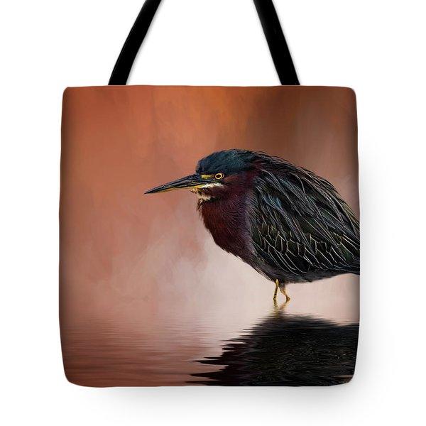 Bah, Humbug Tote Bag by Cyndy Doty