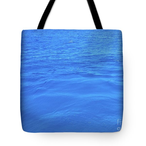 Bahama Blue Tote Bag