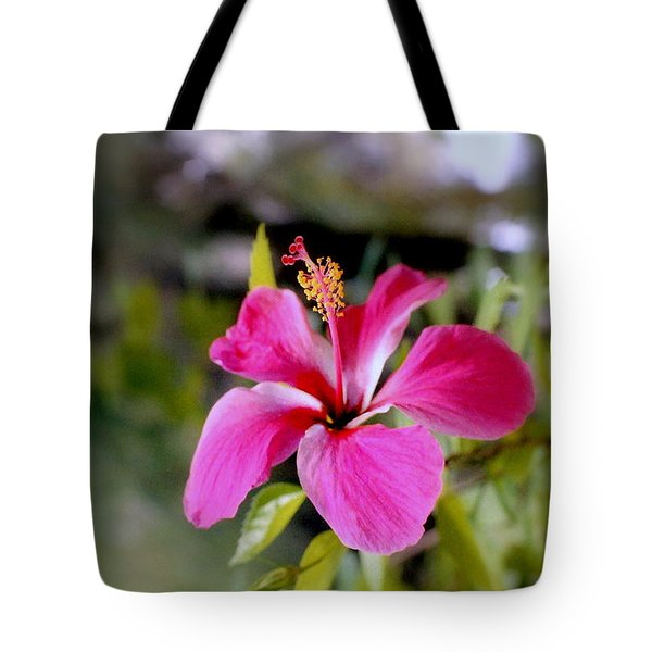 Bahamian Flower Tote Bag