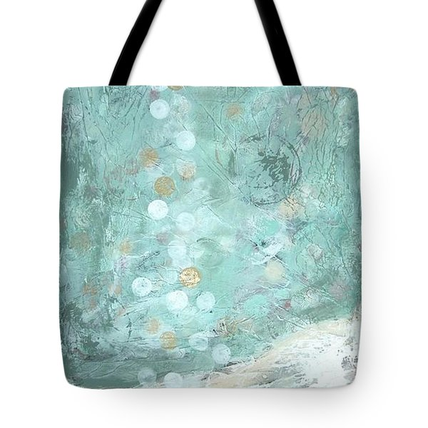 Bahamian Rapture I Tote Bag by Kristen Abrahamson