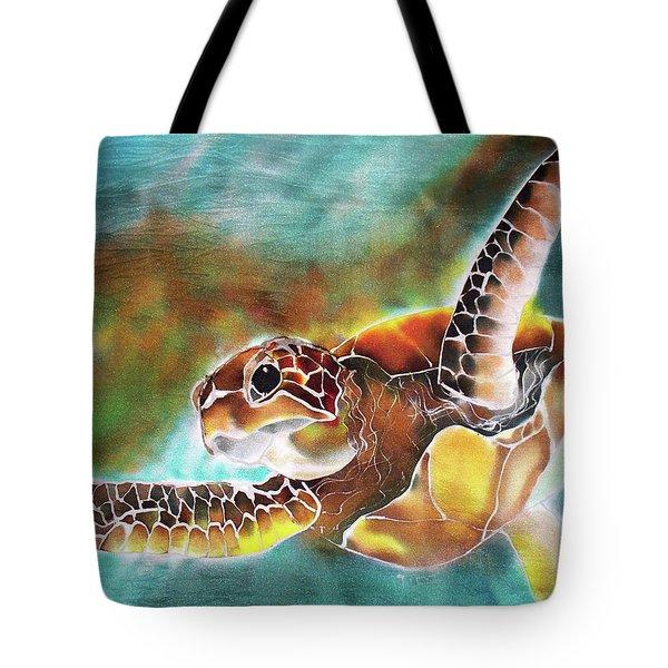 Bahamian Turtle Dove Tote Bag