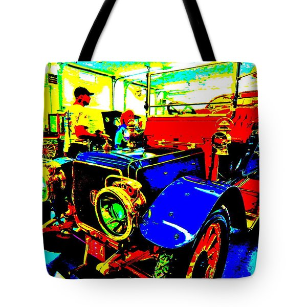 Bahre Car Show II 1 Tote Bag