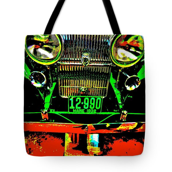 Bahre Car Show II 21 Tote Bag