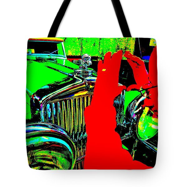 Bahre Car Show II 22 Tote Bag
