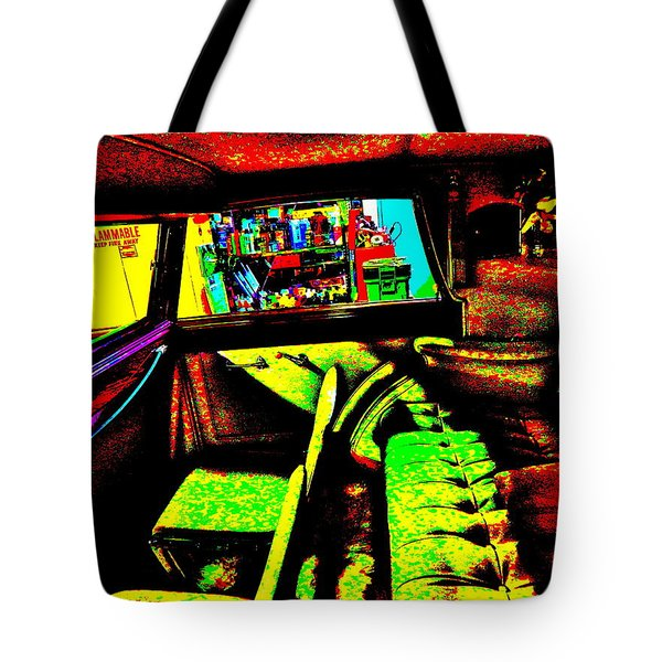 Bahre Car Show II 27 Tote Bag
