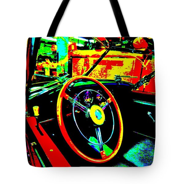 Bahre Car Show II 30 Tote Bag