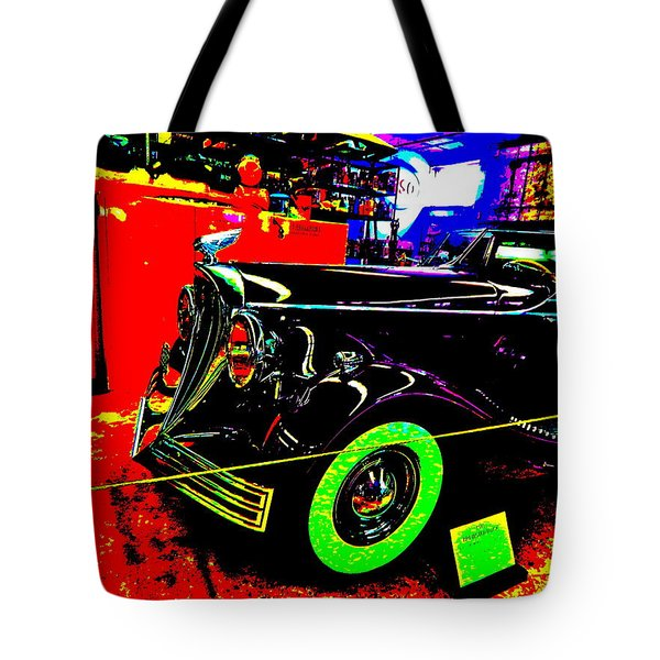 Bahre Car Show II 32 Tote Bag