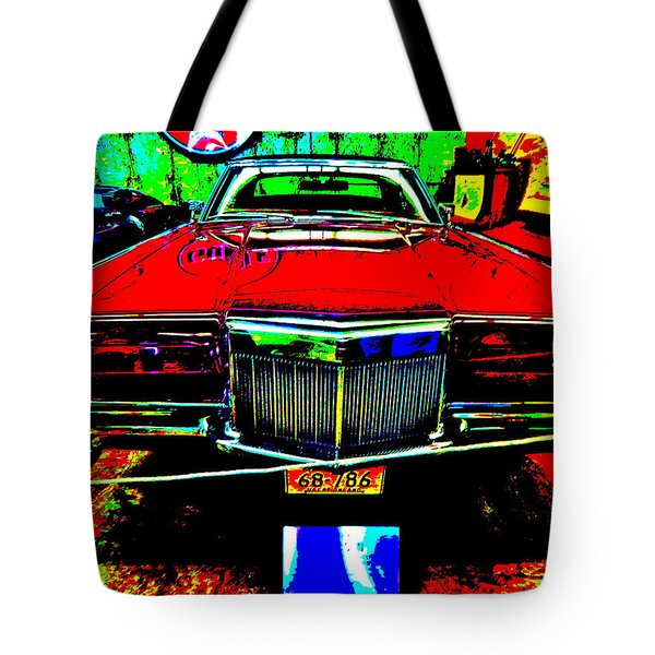Bahre Car Show II 38 Tote Bag