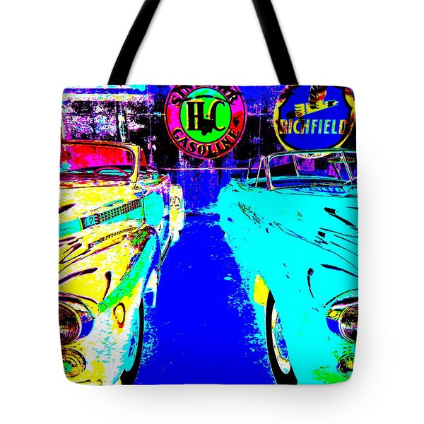 Bahre Car Show II 40 Tote Bag