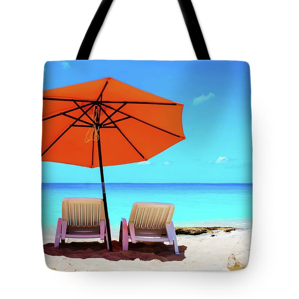 Baie Rouge  Tote Bag