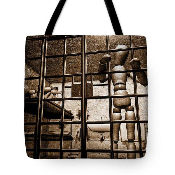 Bail Denied  Tote Bag by Bob Orsillo