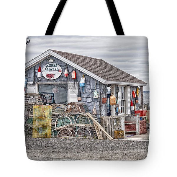 Bailey Island Lobster Tote Bag by Richard Bean