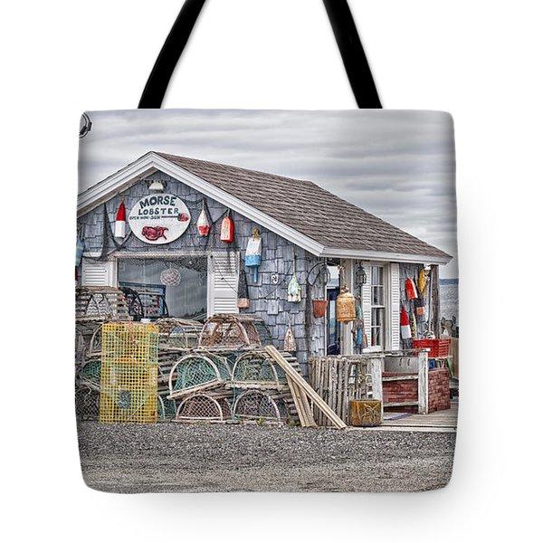 Bailey Island Lobster Tote Bag