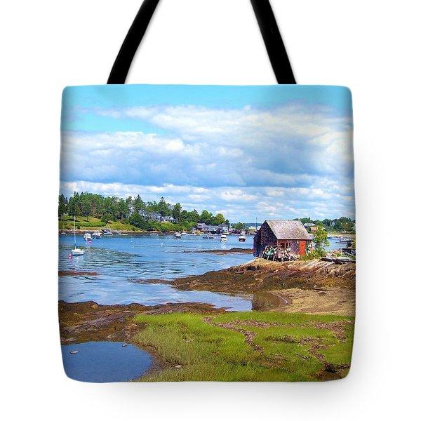 Bailey Island Lobster Shack Tote Bag