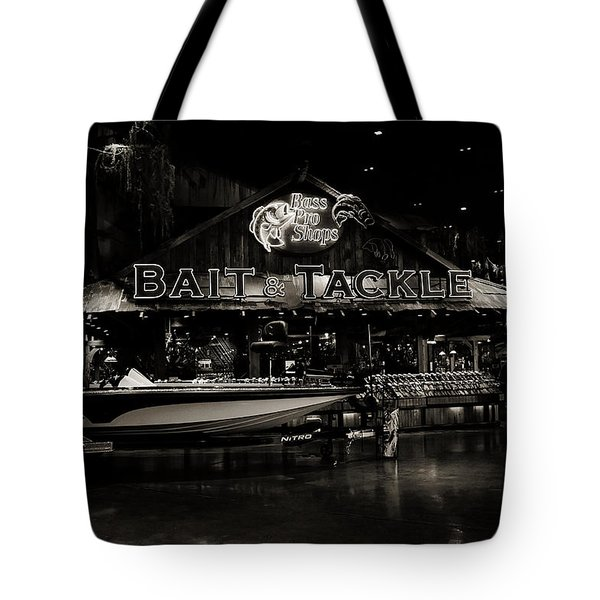 Bait And Tackle Tote Bag by Ester  Rogers