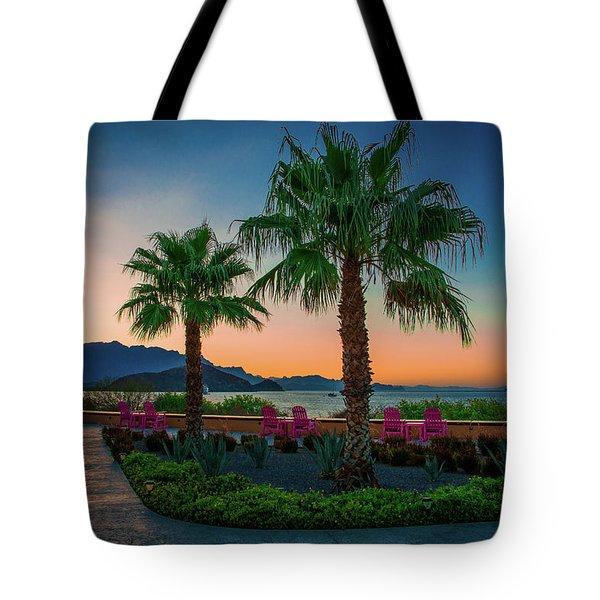 Baja Sunset Tote Bag