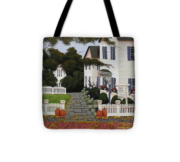 Bake Shop  Tote Bag by Catherine Holman