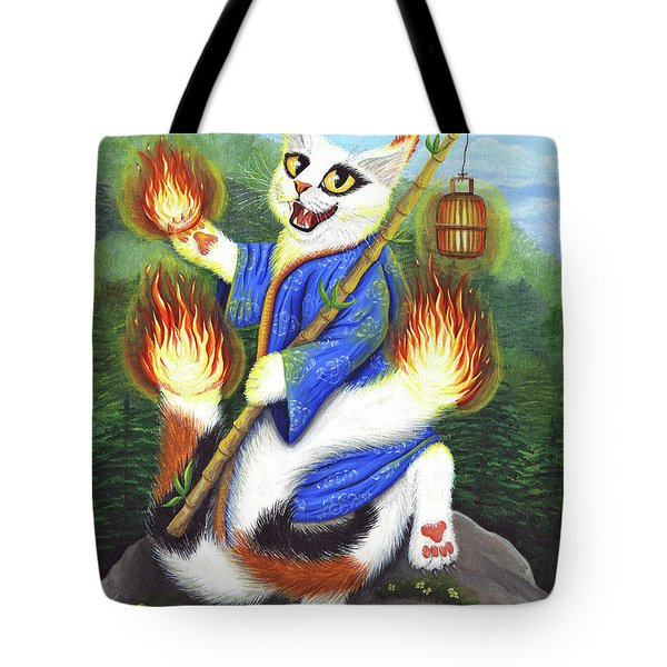 Bakeneko Nekomata - Japanese Monster Cat Tote Bag
