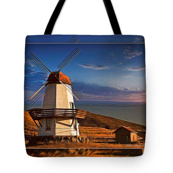 Baker City Windmill_1a Tote Bag